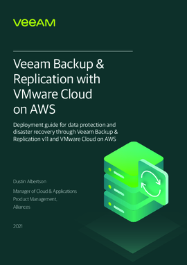 Veeam Backup & Replication with VMware Cloud on AWS