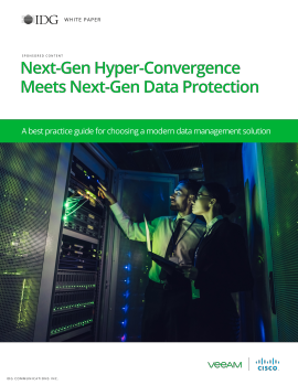 Next-Gen Hyper-Convergence Meets Next-Gen Data Protection