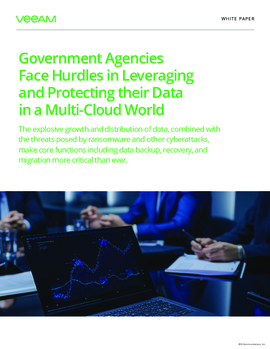 Government Agencies Face Hurdles in Leveraging and Protecting their Data in a Multi-Cloud World