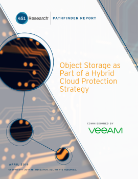 Object Storage as part of your hybrid cloud protection strategy