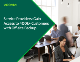 Service Providers: Gain access to 375k+ customers with Off-site Backup