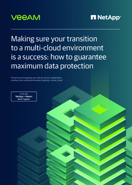 Making sure your transition to a multi-cloud environment is a success: how to guarantee maximum data protection