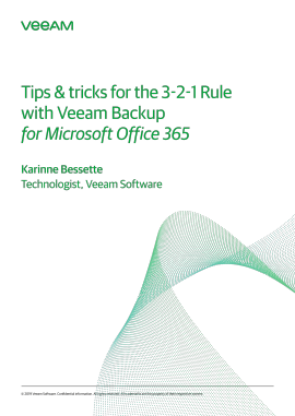 Tips & Tricks for the 3-2-1 Rule With Veeam Backup for Microsoft Office 365