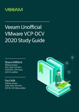 Veeam Unofficial VMware VCP-DCV 2020 Study Guide