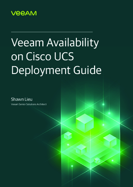 Veeam on Cisco UCS 3260 Configuration Guide