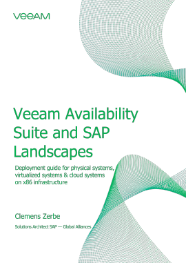 Veeam Availability Suite and SAP Landscapes