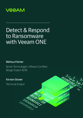 Detect & Respond to Ransomware with Veeam ONE
