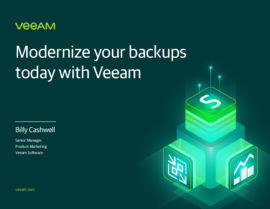Modernize Your Backups Today with Veeam